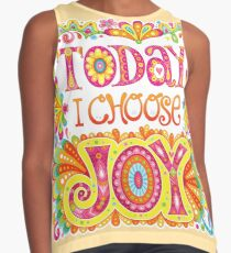 Today I Choose Joy Contrast Tank