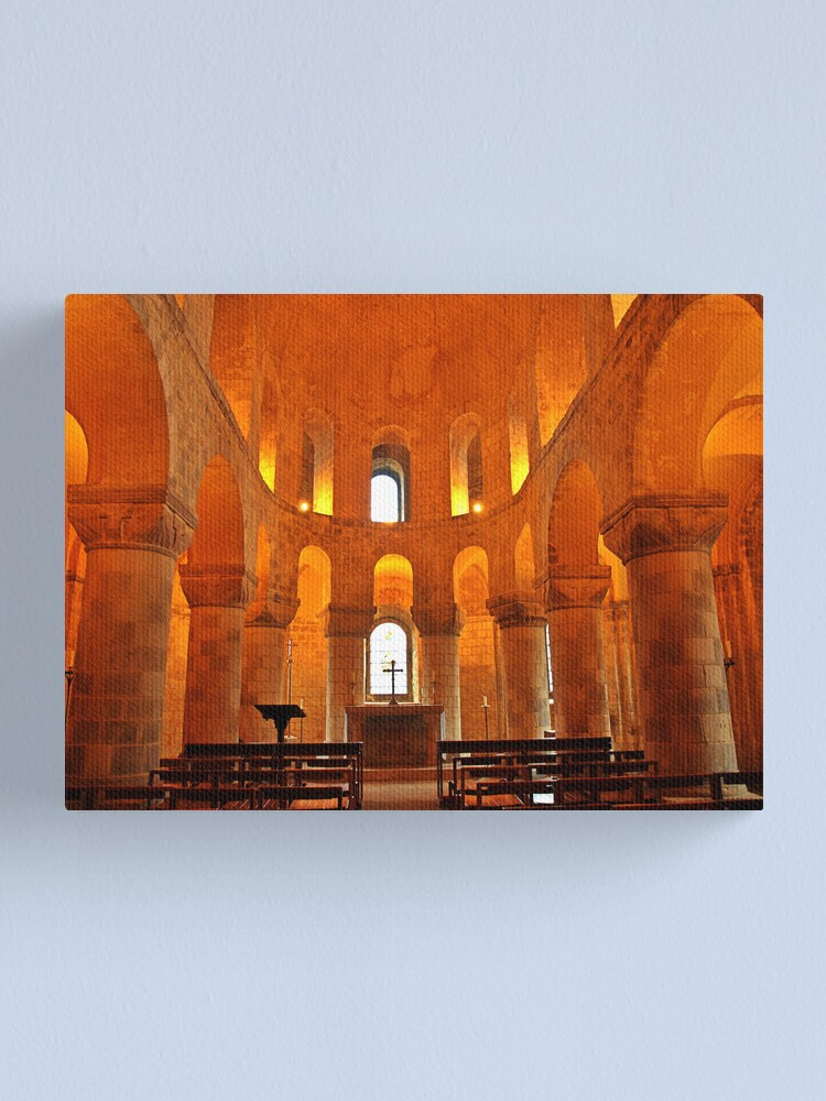 Alternate view of St. John's Chapel - Tower of London Canvas Print