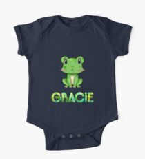 Gracie Frog One Piece - Short Sleeve
