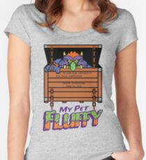 My Pet Fluffy! Women's Fitted Scoop T-Shirt