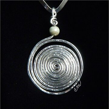XL Hammered Swirl by Camillemeola