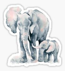 Elephant Watercolor  Sticker