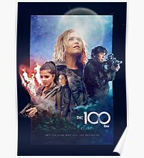 The 100 Season 5 (Drew Struzan inspired) Poster