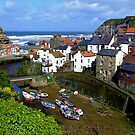 """Staithes, North Yorkshire"" by Bradley Shawn  Rabon"