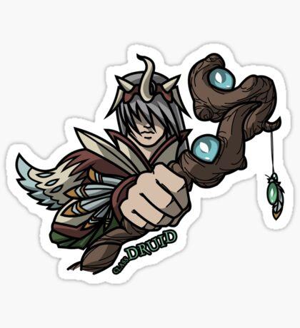 Fantasy Class - Druid Sticker