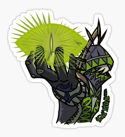 Fantasy Class - Warlock Sticker