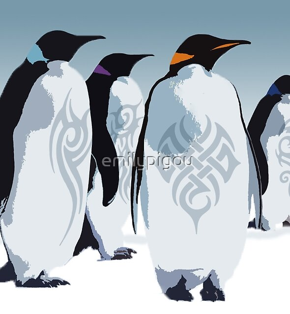 Gangs of Antarctica  by emilypigou