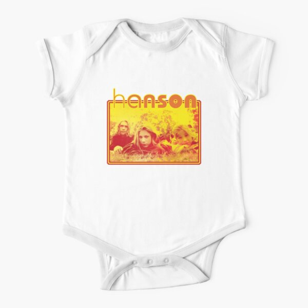 Mmmbop Short Sleeve Baby One-Piece
