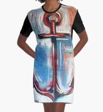 Anchors Away Graphic T-Shirt Dress