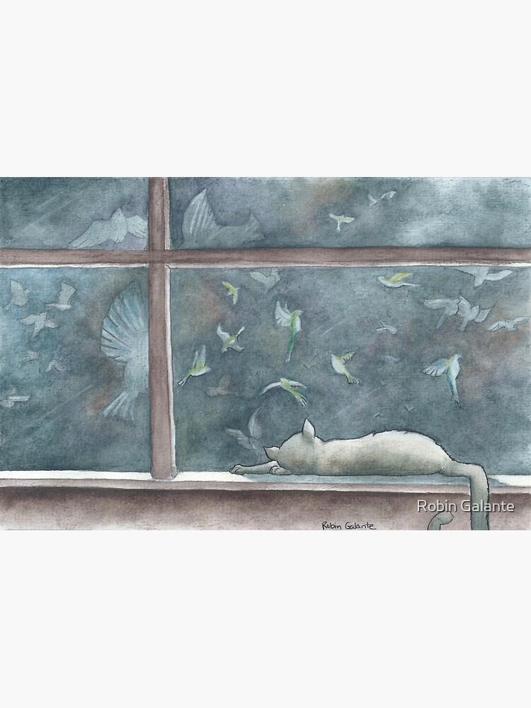 Cat Dreams by robingalante