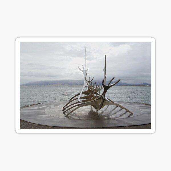 Sun Voyager, Reykjavik, Iceland Sticker