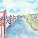 The Golden Gate  by Robin Galante