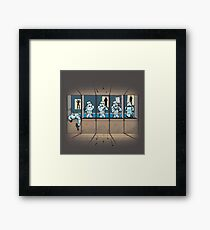 Shooting gallery Framed Print