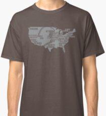 Classic Baseball Stadiums Classic T-Shirt