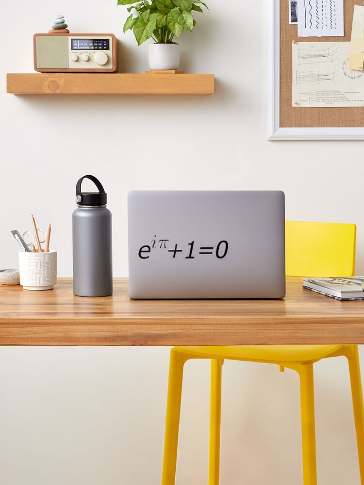 Euler's Identity, Math, Mathematics, Science, formula, equation, #Euler's #Identity: Sticker