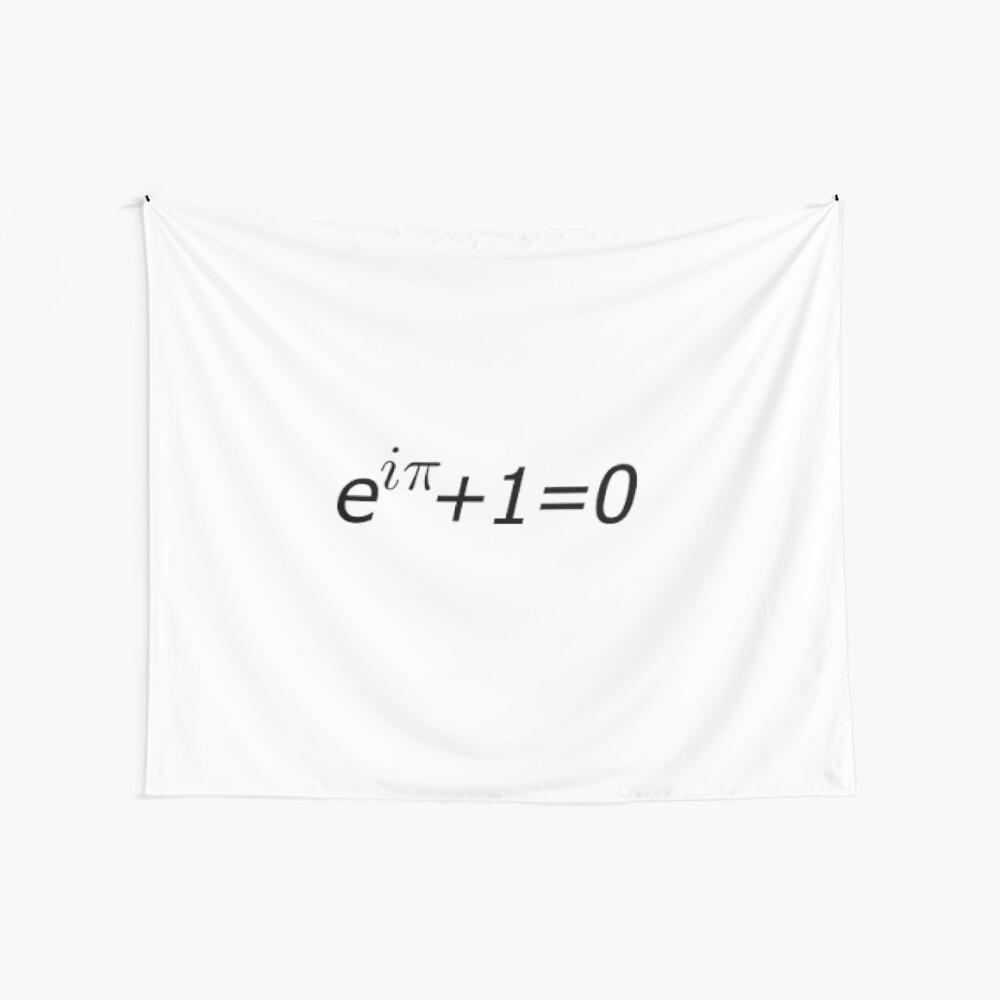Euler's Identity, Math, Mathematics, Science, formula, equation, #Euler's #Identity Wall Tapestry