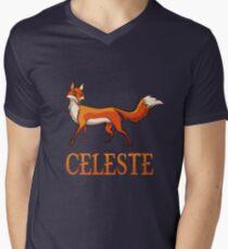 Celeste Fox Men's V-Neck T-Shirt