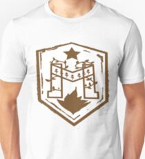 Russian Barbed Wire 'M' Sheild Unisex T-Shirt