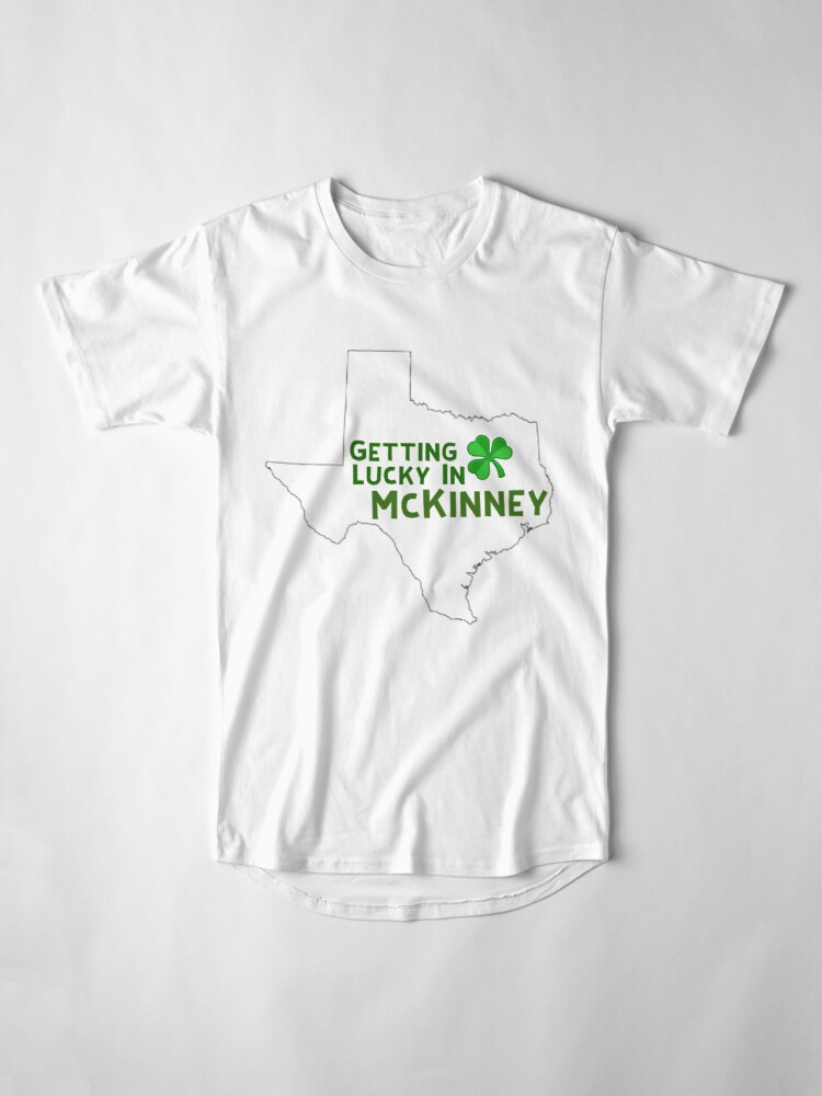 Alternate view of St Patricks Day Texas  Long T-Shirt