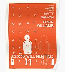 Good Will Hunting Saul Bass Style Poster