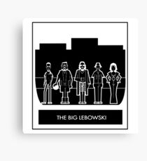 Abide the big Lebowski  Canvas Print