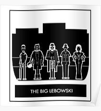 Abide the big Lebowski  Poster