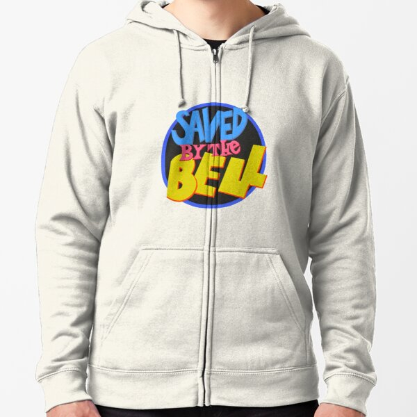 Saved By The Bell Mens Tigers Sweatshirt Athletic Heather