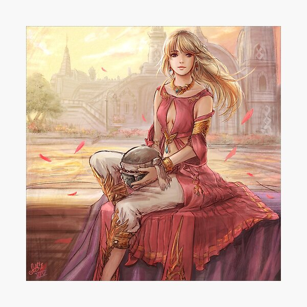 Final Fantasy XIV - Lyse Photographic Print