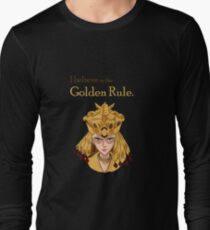Sailor Galaxia - The Golden Rule Long Sleeve T-Shirt