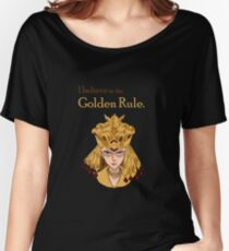 Sailor Galaxia - The Golden Rule Women's Relaxed Fit T-Shirt