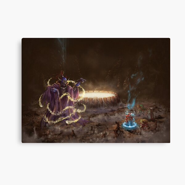 Red Mage (15 Left!!) Canvas Print
