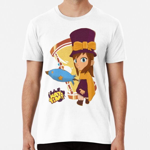 A Hat in Time: Hat Kid! (Color) Premium T-Shirt