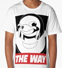 OBEY THE WAY - Ugandan knuckles Long T-Shirt