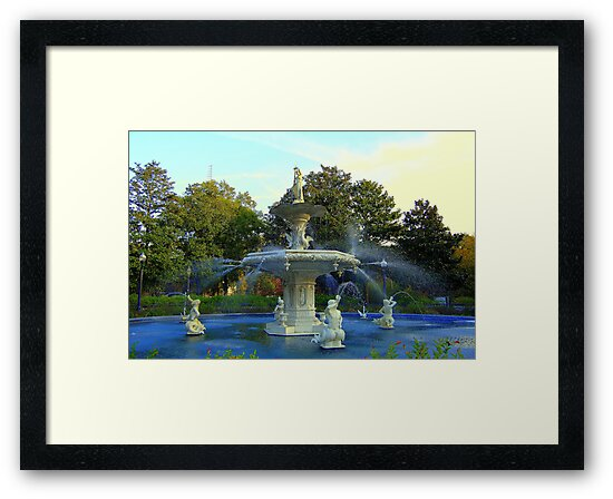 Forsyth Fountain 1 by Bob Moore