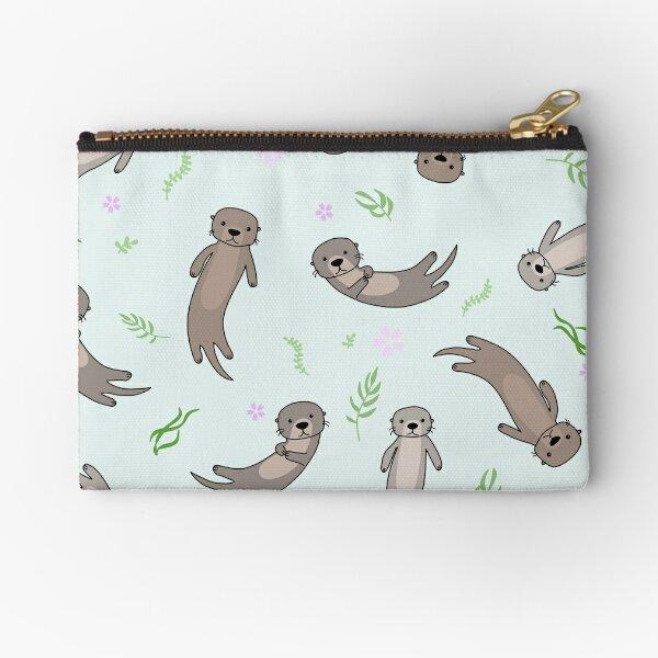 Cute Kawaii Otter Zipper Pouch
