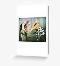Beetlejuice Adam And Barb Greeting Card