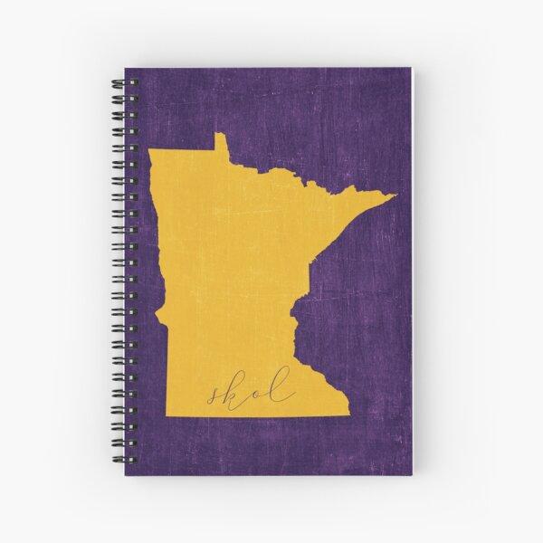 Skol Minnesota Vikings Spiral Notebook