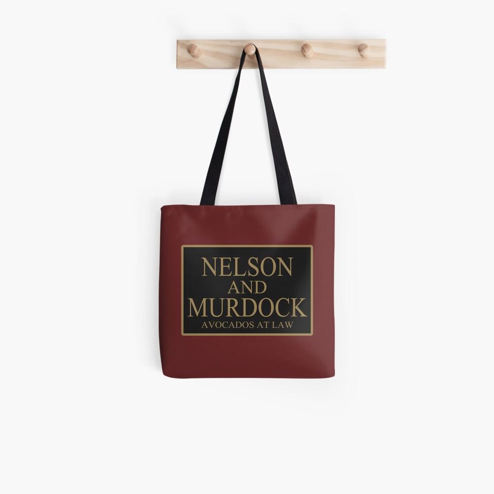 NELSON UND MURDOCK AVOCADOS AUF RECHT Tote Bag