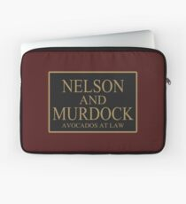 NELSON AND MURDOCK AVOCADOS AT LAW Laptop Sleeve