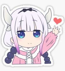 Kanna Wave with Heart Sticker