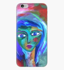 Green Face iPhone Case