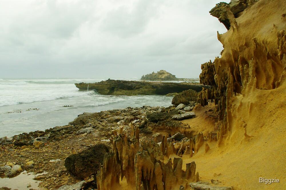 Wind Erosion meets Sea Erosion by Biggzie
