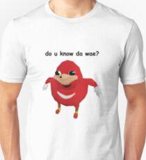 do u kno da wae??? ugandan knuckles Unisex T-Shirt