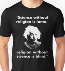 Science and Religeon Unisex T-Shirt