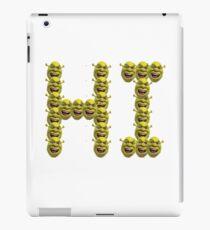 Shrek Says Hi iPad Case/Skin