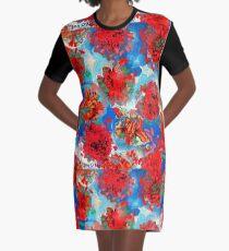 Cupid Petals Graphic T-Shirt Dress