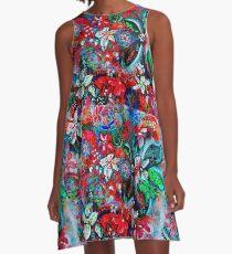 Floral Spring A-Line Dress
