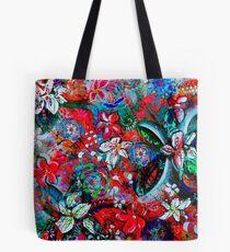 Floral Spring Tote Bag