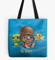 Kip and Pip G'day Background Tote Bag