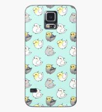 Kawaii Cute Cockatiel Bird Pattern Case/Skin for Samsung Galaxy
